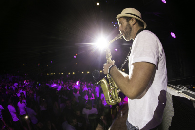ITAI, International Saxophone Player brings 'SolarWinds' Live House-Infused Jazz to Newport, CA